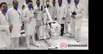 Hospital de Campanha do Anhembi conta com a Konimagem na luta contra o COVID-19